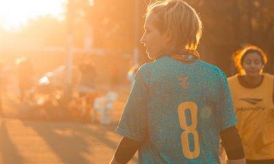 joueuse de foot